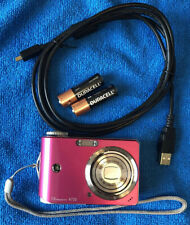Ge General Imaging A730 7.0 Mp Digital Camera - Pink~Mint~Usb Cable~Batteries