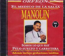 Manolin El Medico de Salsa Vol  2 CD New Nuevo Sealed