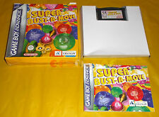 SUPER BUST A MOVE (Puzzle Bubble) Game Boy Advance GBA Vers Italiana ○○ COMPLETO
