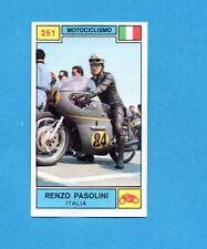 CAMPIONI SPORT 1969-70-PANINI-Figurina n.251- PASOLINI -ITALIA-MOTOCICLISMO-Rec