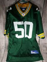 Green Bay Packers A.J. Hawk #50 size large jersey