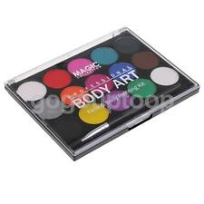 15 Colors Non-toxic Face & Body Paint Painting Halloween Fancy Party Art Kit