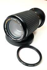 HOYA HMC ZOOM & CLOSE FOCUS 80-200mm 1:5.5 lens with hood
