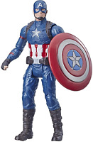 "Avengers Marvel Captain America 6""-Scale Marvel Super Hero Action Figure Toy"
