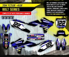 YAMAHA YZ 250F YZ 450F decals stickers graphics kit YZF 250 450 2014
