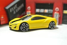 Hot Wheels Loose - 2012 Acura NSX Concept - Yellow - 1:64