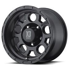 4 16 inch Chevy Silverado 1500 K1500 Truck BLACK XD122 6x5.5 Rims Wheels 6 LUG