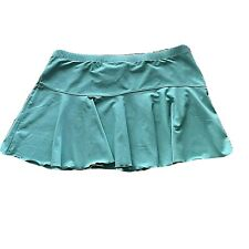 NWT Nike Dry Fit  Womens Tennis Skirt Athletic Size M 8-10 Color Aqua Green