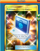 DIGITAL Pokemon communication Secret Rare  pokemon tcg online