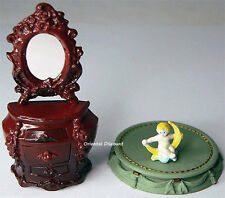 Rococo Dresser Figure Takara Kaiyodo Miniature Antique Museum Limited 2003