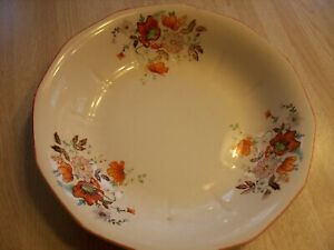 VINTAGE FRENCH DAUPHINE CHINA  9 INCH SERVING BOWL