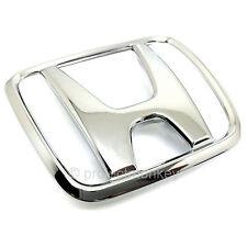 """OEM Honda 92-95 Civic 3DR Hatchback Rear """"H"""" Emblem Chrome Badge EG Genuine Part"""