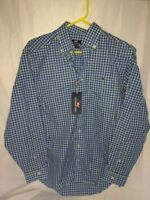 "Vineyard Vines Men's Plaid Button Front ""Tucker"" Shirt Size Small"