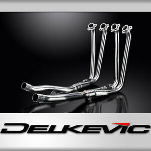 YAMAHA FJR1300 01-18 DE-CAT DOWNPIPES HEADERS 4-2 STAINLESS STEEL EXHAUST