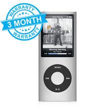 Apple iPod Nano 4th Generation - 8Gb (Silver) MP3 Player - 3 MONTH WARRANTY