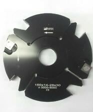 Outil pour toupie arbre de 30 pour tenonner de 14 à 28 mm Ø150 mm