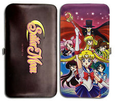 Sailor Moon R Group Checkbook Hinge Wallet Licensed Anime New