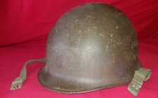 CASQUE US M-1 95th MILITARY POLICE BATTALION 1945