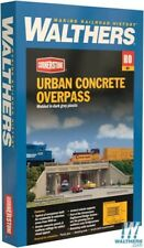 Walthers 933-4560 Urban Concrete Overpass Kit HO Scale Train
