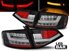 LED REAR TAIL LIGHTS LDAUA0 AUDI A4 B8 SALOON 2008 2009 2010 2011 BLACK