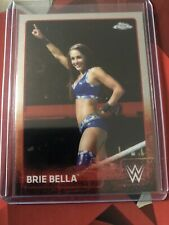 2015 Toppe Chrome WWE Diva Brie Bella #11 Wrestling Trading Card