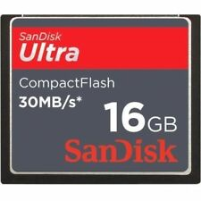 16GB SanDisk Ultra Compact Flash Memory Card 30MB/S CF Card SDCFH