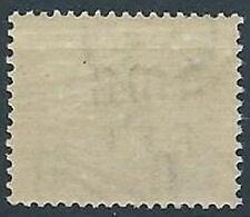 1947-49 TRIESTE A SEGNATASSE 6 LIRE FILIGRANA LETTERA MNH ** - RR13809