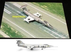 HERPA LUFTWAFFE LOCKHEED F-104G STARFIGHTER 552066