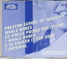 (BN239) Preston School of Industry, Whale Bones - DJ CD