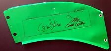 BOBBY LABONTE & JOE GIBBS Signed Race-Used Sheet Metal from Championship Car