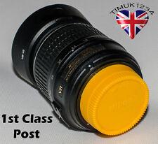 Nikon colorato posteriore dell'obiettivo e corpo CAPS/COVERS