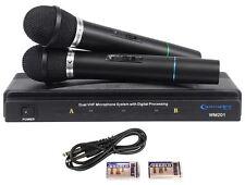 Technical Pro WM201 Handeld VHF Wireless Microphone System + 2 Wireless Mics