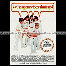 BONTEMPI 'HIT ORGAN / ORGANISTA' 1970 Electric Chord Organ - Pub / Advert #A784