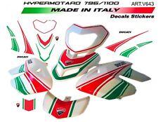 Kit adesivi dal design tricolore per Ducati Hypermotard 796/1100