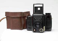 Perfekta 6x6  Bakelit + Achromat 7,7 f=80mm  VEB; RHEINMETALL  + Tasche! Nr.300