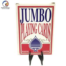 Vintage Jumbo Playing Cards
