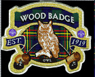 Wood Badge Owl Patch Critters from the UK