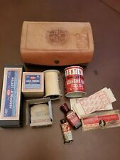 Vintage The Guardman Leather First Aid Kit