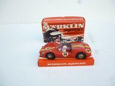 Märklin Sprint PORSCHE CARRERA 6 Nr 1303 (NO14 ) MADE IN WEST GERMANY NM BOX
