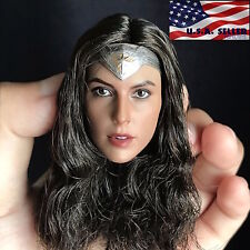 1/6 Gal Gadot Female Head Sculpt For Wonder Woman Phicen Hot Toys Figure ❶USA❶
