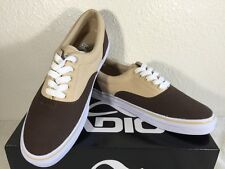 Adio Cruiser Canvas Men's Casual, Sport, Sneakers Shoes, Brown/ Tan, Size 7.5 US