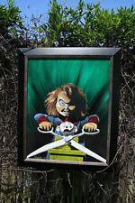 "Chucky Original 16x20"" Canvas oil painting Child's Play - Horror Halloween movie"