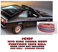 Osborn Reproductions Mustang Hood Decal King Cobra 5.0 1978