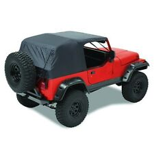 Pavement Ends Emergency Top Quick Protection 92-95 Jeep Wrangler YJ Black