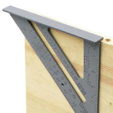DIY Metric Inch Length Triangle Ruler 90 Degree Square Thick Triangular Ruler SA