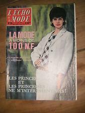 Echo de la mode N° 20 1961 Patron Mode vintage Couture Robe Tricot Enfant 60'