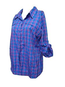 Columbia omni-shade Women LARGE Breathable  Hiking Outerwear Button-up Shirt(#P1