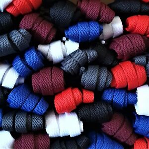 Flat converse style shoe laces replacement Nike trainer laces 60 cm to 160 cm