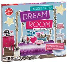 DESIGN YOUR DREAM ROOM INTERIOR DESIGN PORTFOLIO KLUTZ KIDS CRAFT & ACTIVITY KIT
