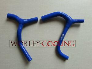 silicone radiator coolant hose Kawasaki KX 450 F//KX450F 2009-2015 blue